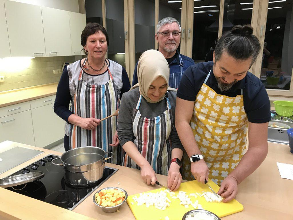 kennenlernen beim kochen